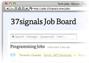37signals Job Board
